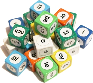 Simply Reading Letter Dice